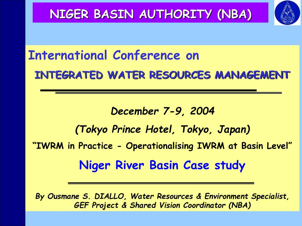 niger basin authority nba l.