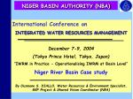 niger basin authority nba