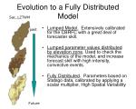 evolution to a fully distributed model