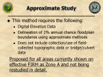 approximate study