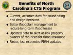 benefits of north carolina s cts program