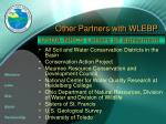 other partners with wlebp