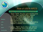 role of usda nrcs