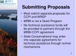 submitting proposals8