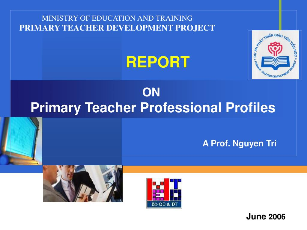 on primary teacher professional profiles l.