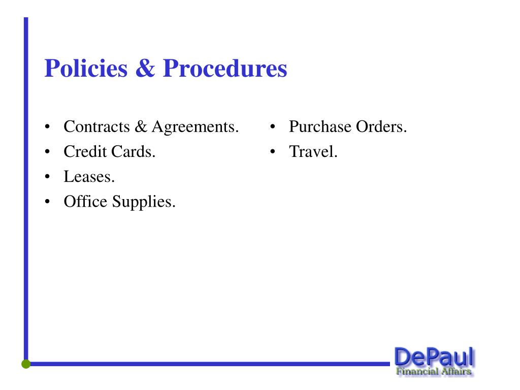 Contracts & Agreements.
