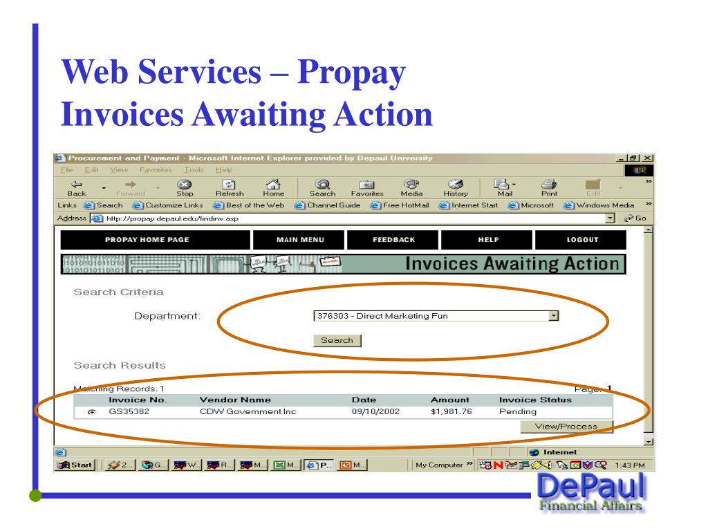 Web Services – Propay
