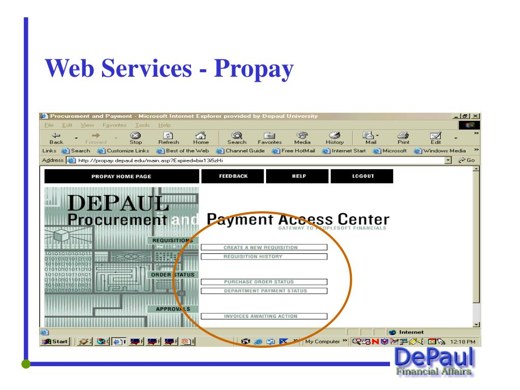 Web Services - Propay