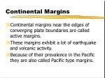 continental margins3