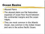 ocean basins27