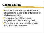 ocean basins28