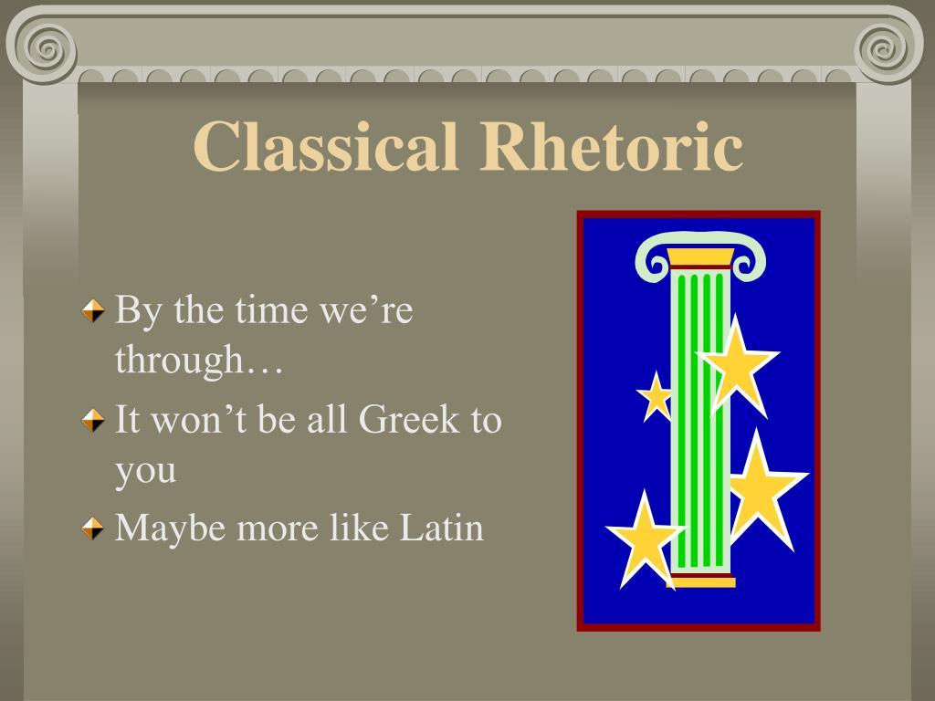 classical rhetoric l.