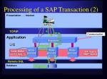 processing of a sap transaction 2