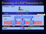 processing of a sap transaction 3