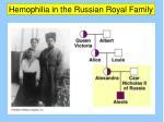 hemophilia in the russian royal family