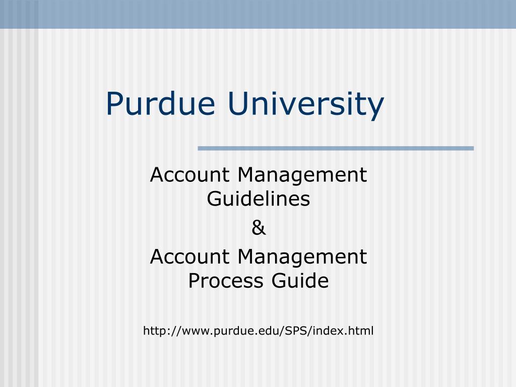 purdue university l.