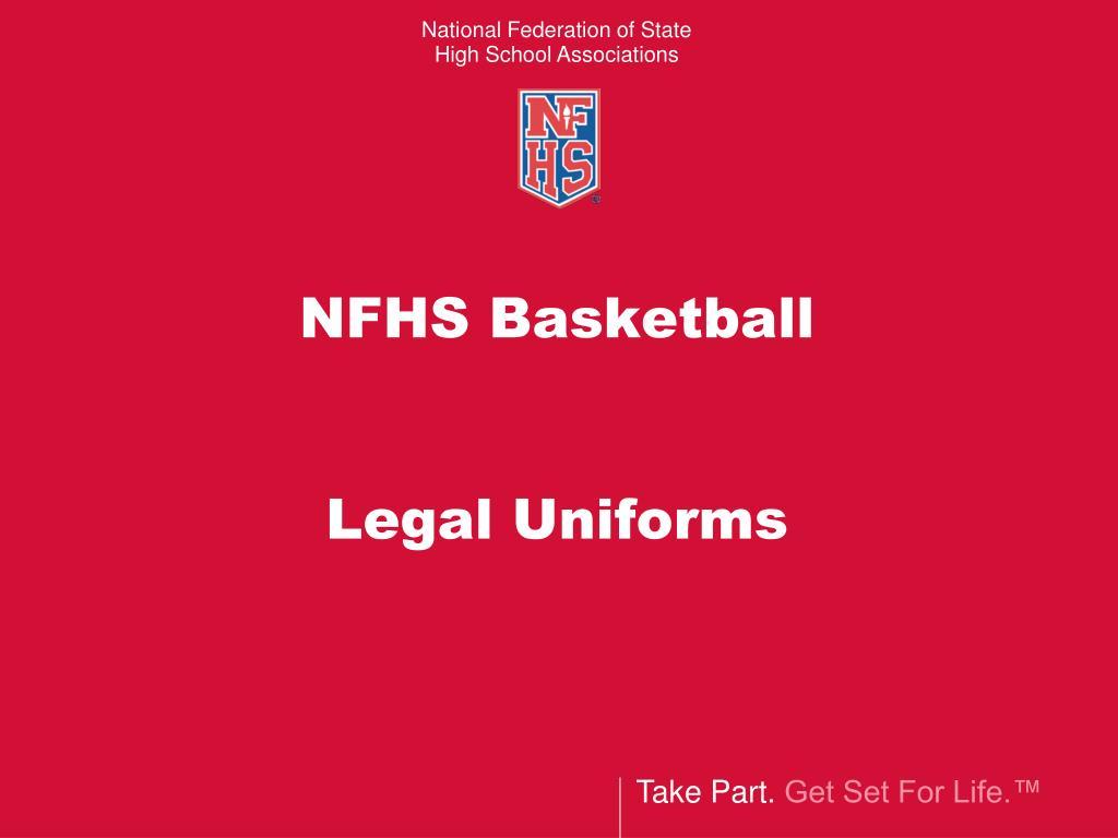 nfhs basketball legal uniforms l.