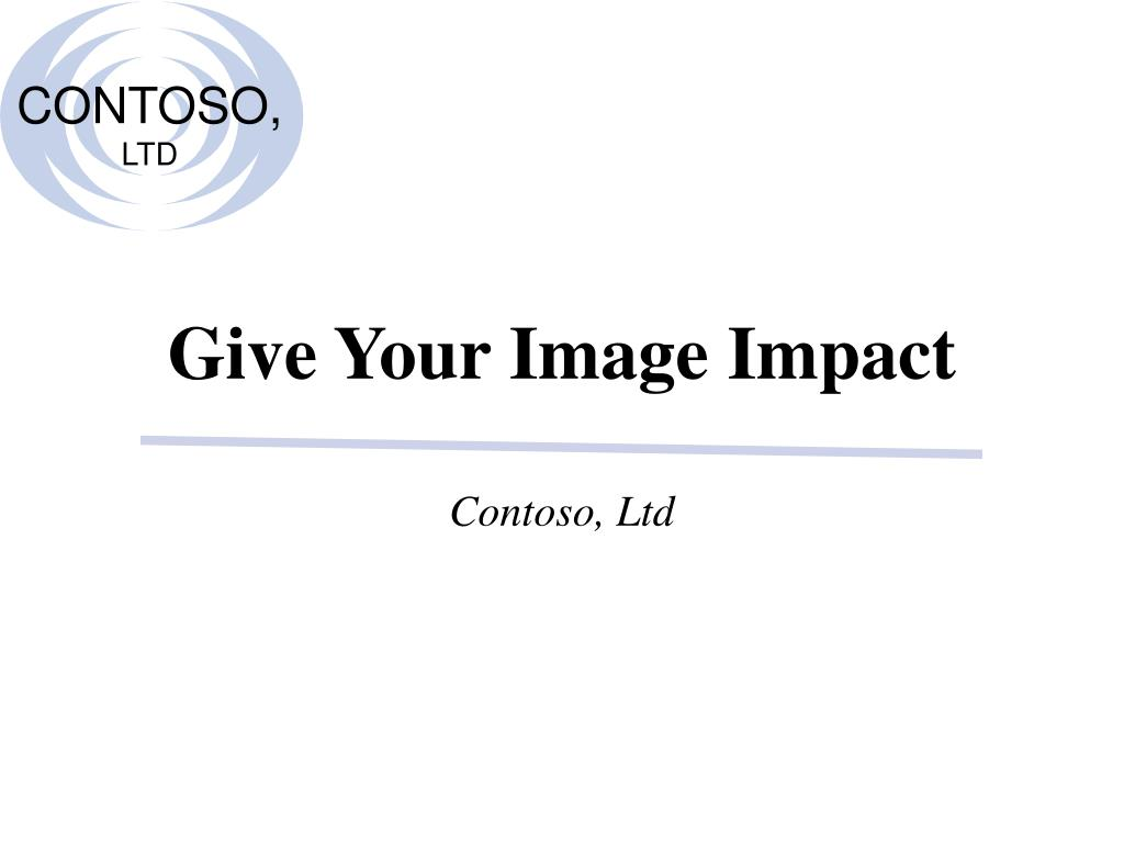 give your image impact l.