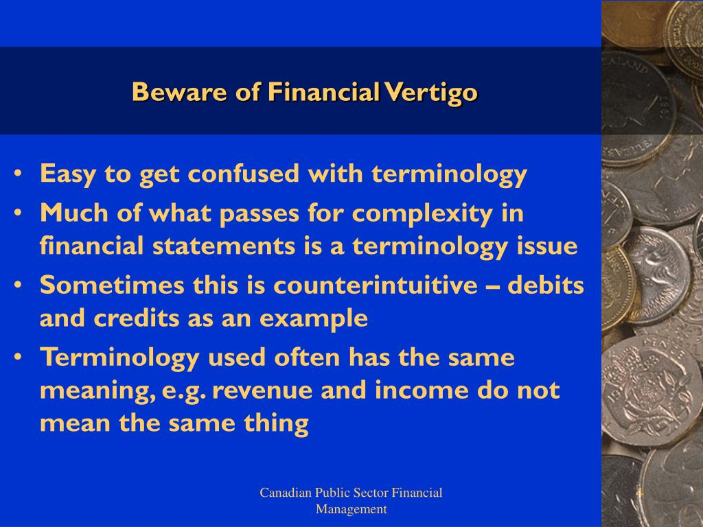 Beware of Financial Vertigo