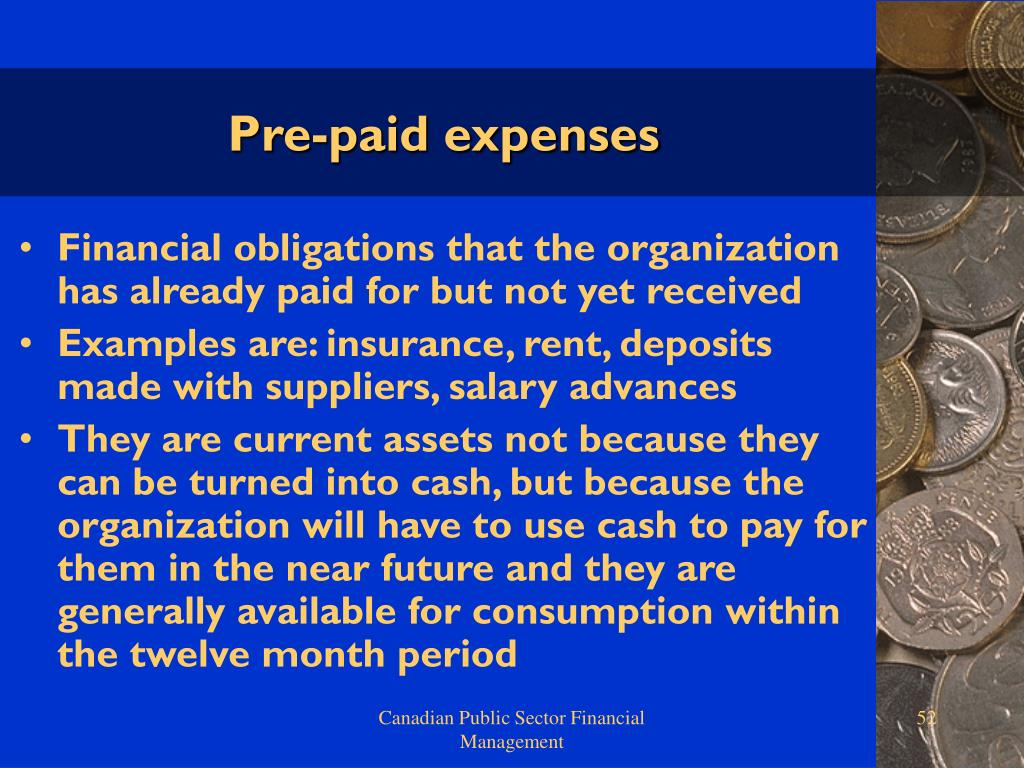 Pre-paid expenses