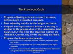 the accounting cycle11