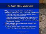 the cash flow statement101