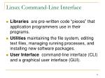 linux command line interface24