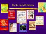 books on self esteem