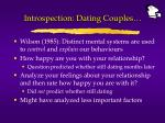 introspection dating couples