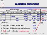 summary questions63