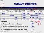summary questions64