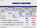 summary questions66