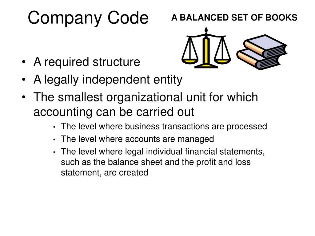 Company Code