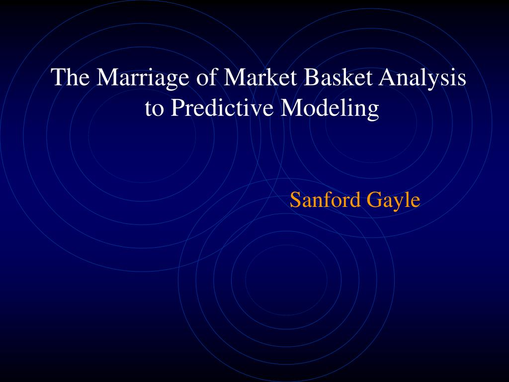 the marriage of market basket analysis to predictive modeling l.