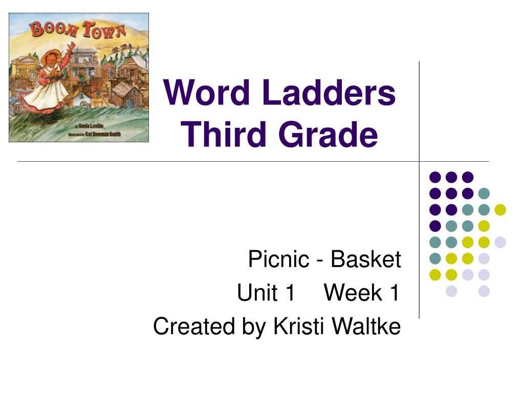 word ladders third grade l.
