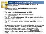 the consumer price index8