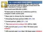 the consumer price index9