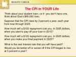 the cpi in your life