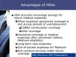 advantages of hsas