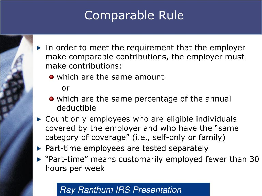 Comparable Rule