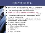 history is thinking