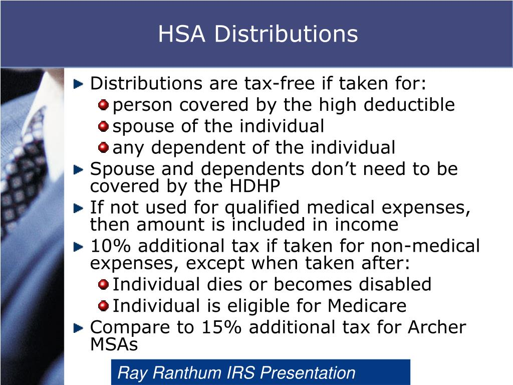 HSA Distributions