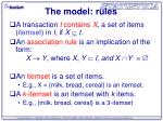 the model rules