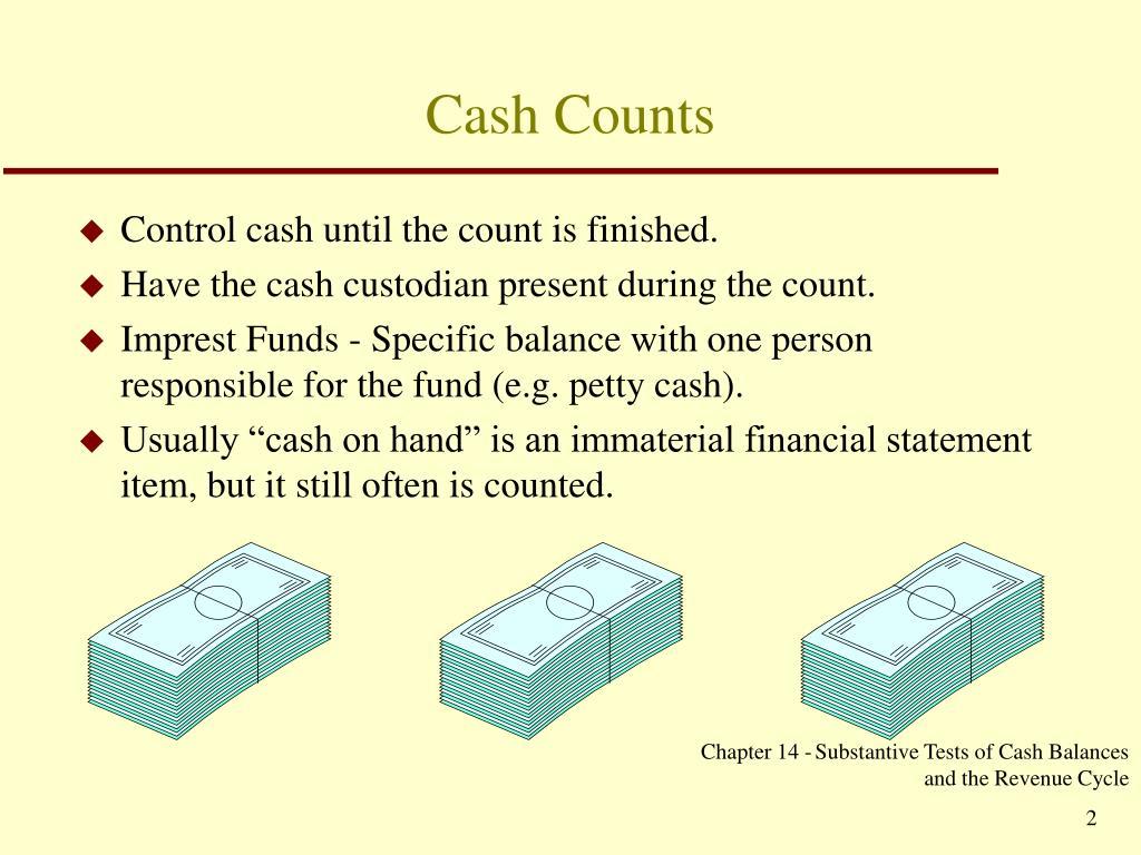 Cash Counts