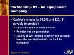 partnership 1 an equipment company1