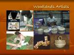 woodlands artists