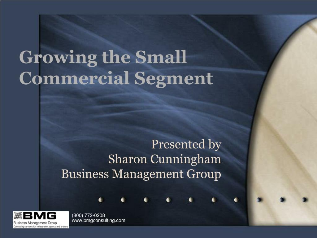 growing the small commercial segment l.