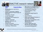 enactive research network