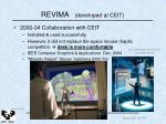 revima developed at ceit