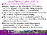 designing against fatigue24